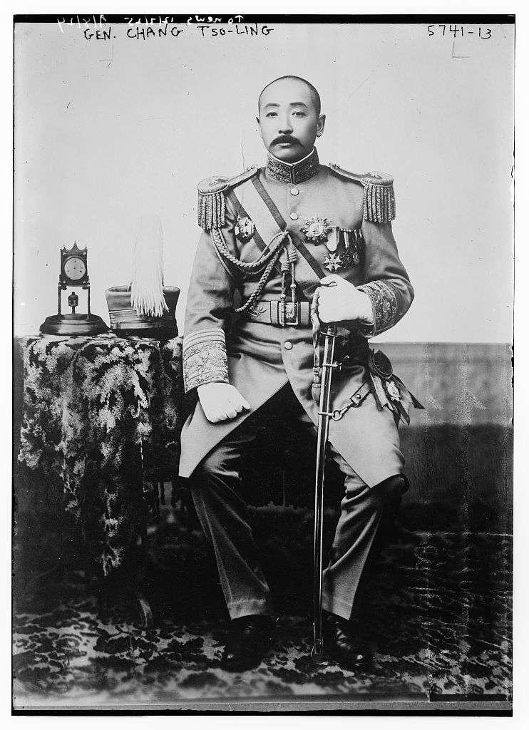張作霖(圖/維基百科)