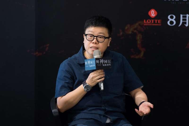 應邀與導演對談的台灣電影金牌監製葉如芬