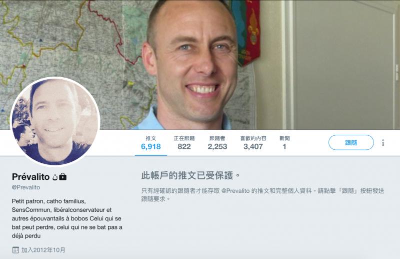 Barnum老闆德培瓦爾(Emmanuel de Preval)的推特目前已看不到任何推文。
