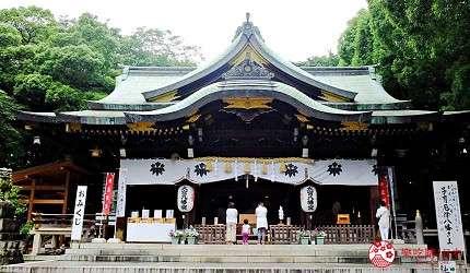 「大宮八幡宮」有900多年的歷史(圖/樂吃購!提供)