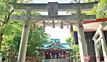 「多摩川淺間神社」的主祭神「木花咲耶姬命」以美貌著稱(圖/樂吃購!提供)