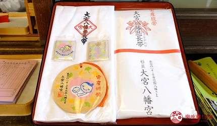 通常參加神社的安產祈願都會獲得特別準備的授與品(圖/樂吃購)