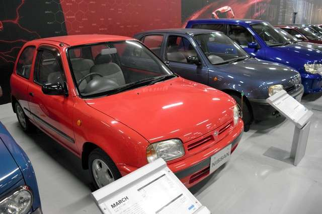 獲選為1993歐洲年度風雲車的第2代MARCH=攝於8月8日(潮日本提供)