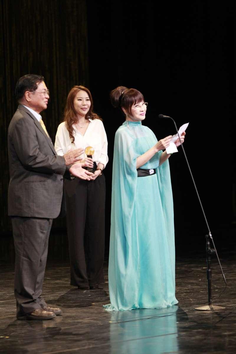 20180811-第29屆傳藝金曲獎的戲曲類特別獎得主為有「永遠的娘子」之稱的歌仔戲演員許秀年。(國立傳統藝術中心提供)