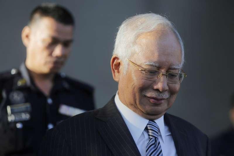 馬來西亞前總理納及深陷貪腐指控。(AP)