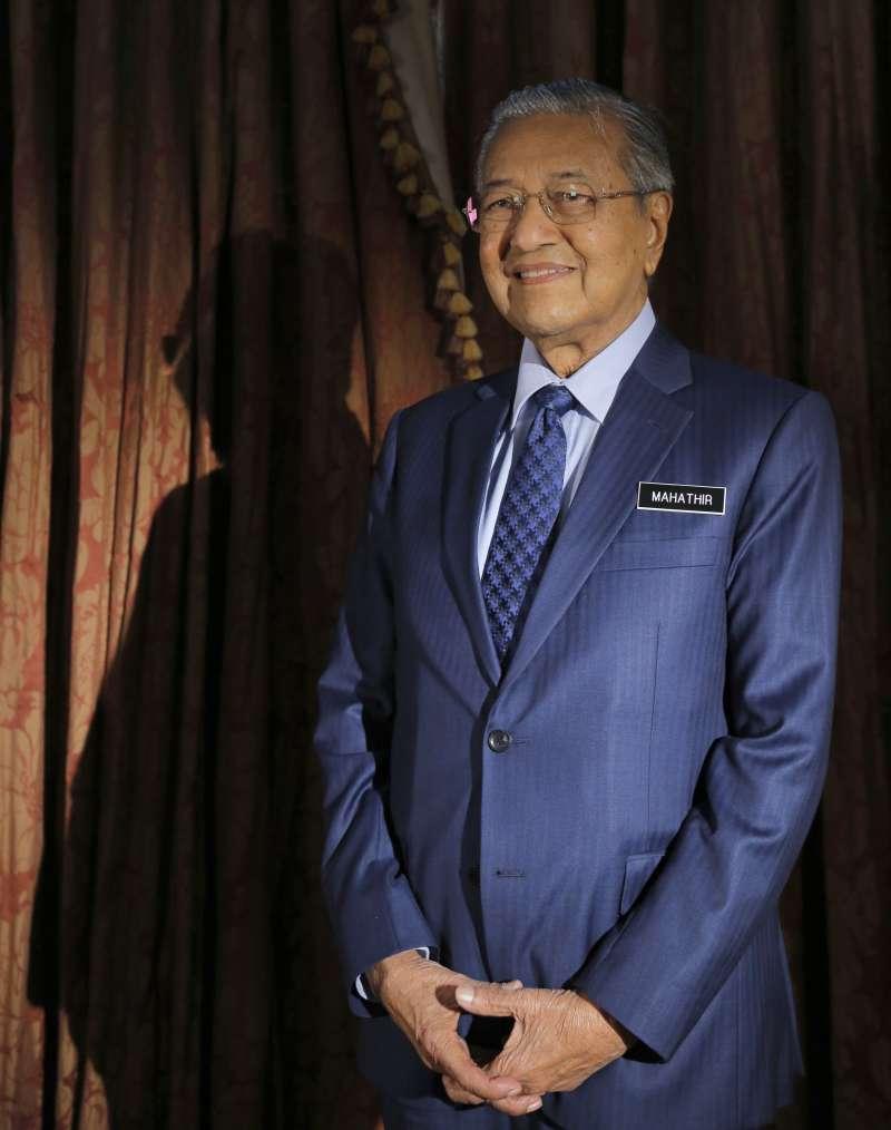 高齡93歲的馬哈地,是全球最老的新科領導人。(AP)