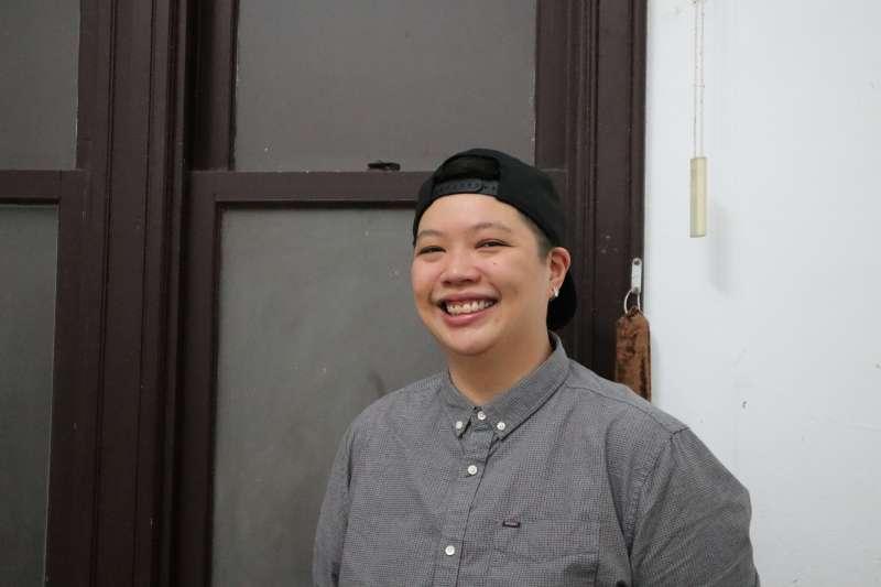 在2018年台北藝術節演出的新加坡戲劇作品《不男不女》導演陳立婷(Liting Tan)。(蔡娪嫣攝)