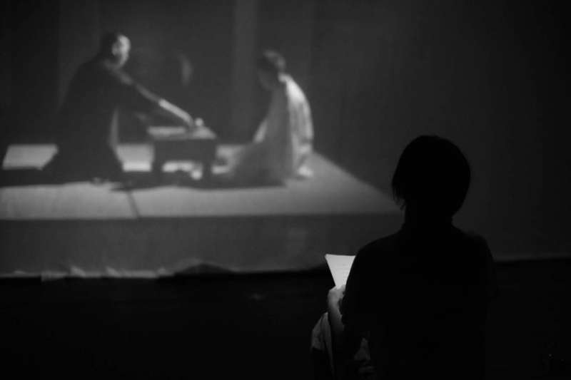 澳門導演杜詠琪創作的舞台劇《手談坐隱》,今年首度在台北演出。(杜詠琪提供)