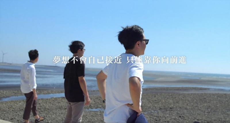 影片中的「夢想不會自己接近,只能靠你向前進。」成為了經典金句(圖/TOYOTA提供)