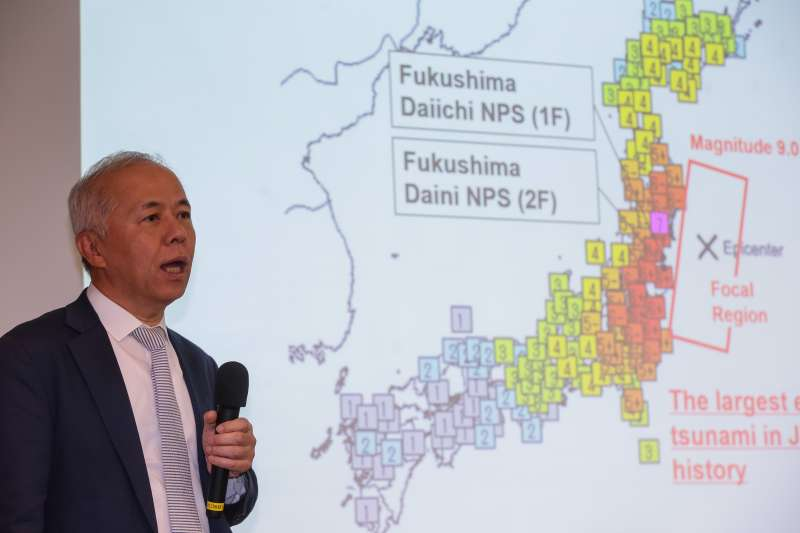 20180816-東京電力公司副會長廣瀨直己16日出席「2018福島復原現況:日本東京電力重建之路」座談會。(顏麟宇攝)