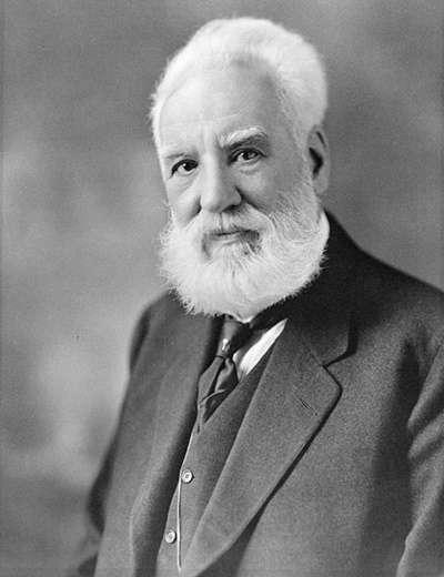過往被認為是電話發明者的貝爾(圖/維基百科)