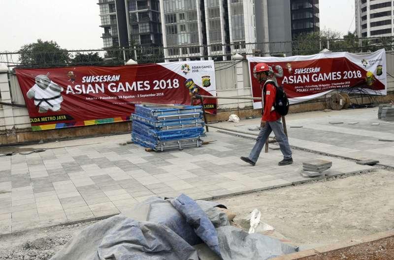 第18屆亞運賽將於18日正式開幕,但雅加達的空污問題成為一大隱憂。〈AP〉