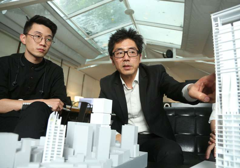 台灣人才流失速度加快,出走中國的菁英數量逐年增加。圖為發生建築創辦人姜宇捷。(圖/遠見雜誌提供,攝影張智傑)