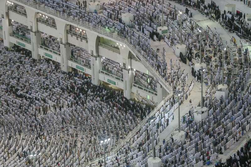 今年「朝覲」盛事,預計有300萬信徒將湧入沙烏地阿拉伯的麥加。(美聯社)