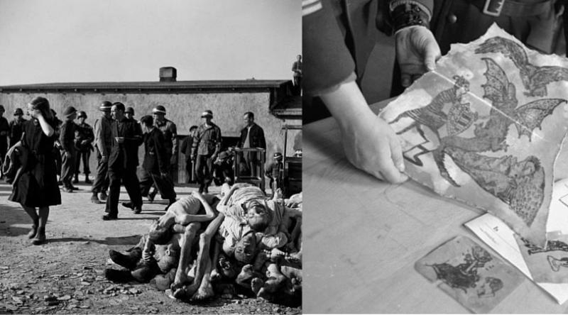 德國民眾被要求參觀集中營(圖/取自維基百科)