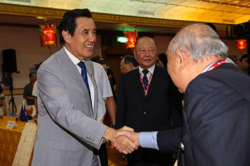 20180821-前總統馬英九21日出席「紀念823台海戰役戰勝60週年」學術研討會。(顏麟宇攝)