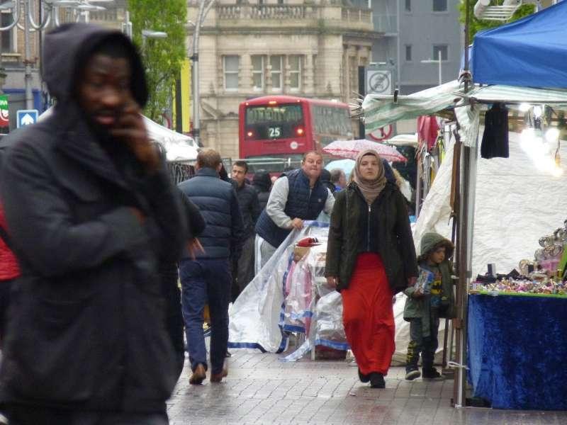 20180821-《低端的真相》-東倫敦街景。(秀威資訊提供)