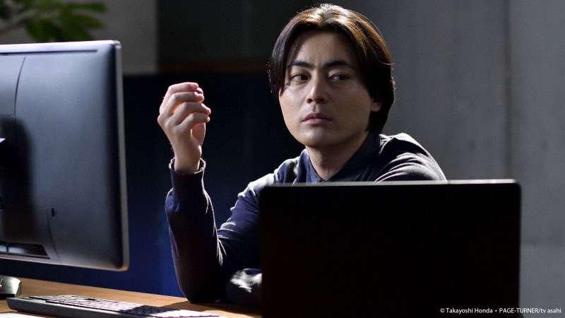 山田孝之飾演了一個低調的駭客,專業、冷酷的形象是戲中一大亮點。(圖/KKTV提供)