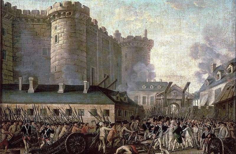 法國大革命是民粹之濫觴。(圖為攻佔巴士底獄的油畫∕維基百科)