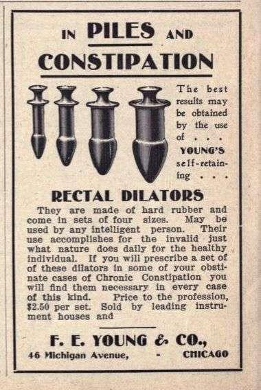 「直腸擴張器」,看了圖也許有些人會認為它長得很像某種「情趣玩具」。(圖/Kay Snyder@Pinterest)
