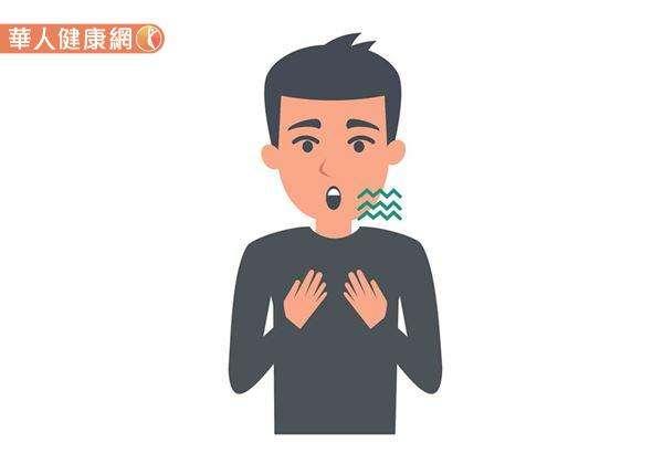 從中醫的觀點來看,打嗝又可稱為「呃逆」,指的是因胃氣上逆,導致人體咽喉間頻頻出現呃呃聲的現象。(圖/華人健康網提供)