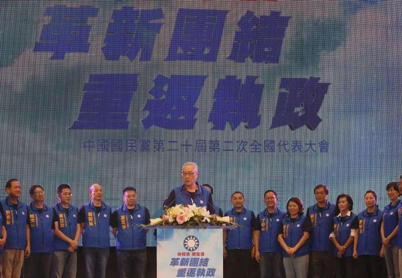 國民黨中央樂觀評估可望拿下縣市長選舉半數席次。(林瑞慶攝)