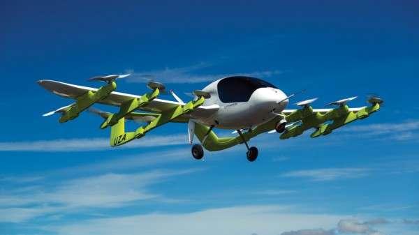 飛行車新創 Kitty Hawk,目前原型機Cora正在紐西蘭進行飛行測試,每次可以飛行20分鐘,活動半徑約為50英里左右,是針對往返學校、超市、辦公室的短程通勤所設計。(圖/kittyhawk)