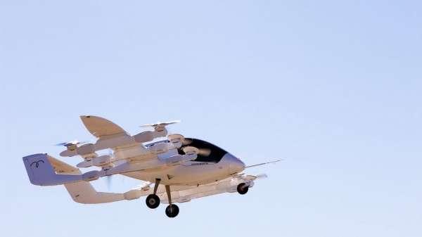 新創 Kitty Hawk的理想,是打造一個空中計程車系統。(圖/kittyhawk)