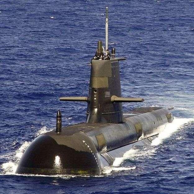 澳洲通過軍購提升潛艦部隊能力,對付增加的海洋威脅。(新華社)