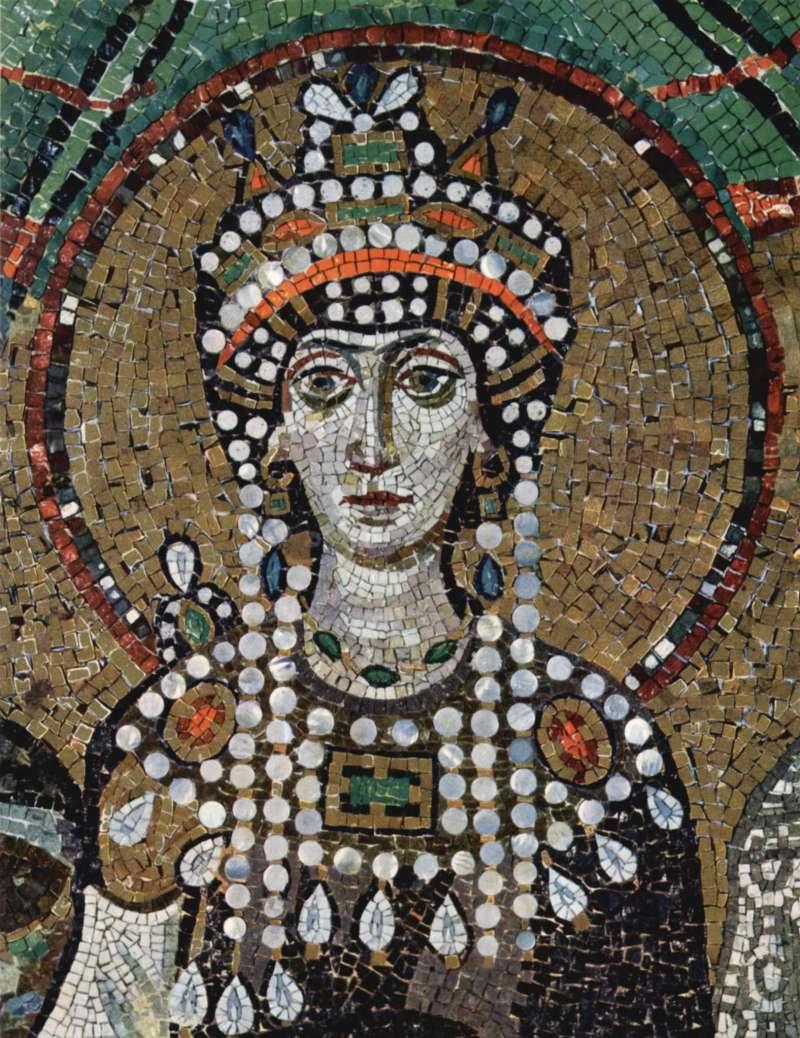 查士丁尼一世的妻子狄奧多拉皇后。(取自維基百科/公有領域)