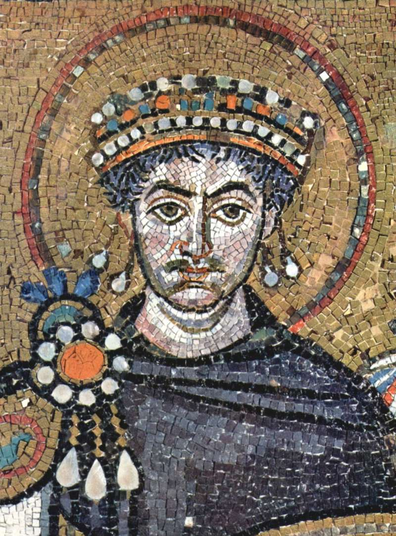 查士丁尼大帝。(取自維基百科/公有領域)