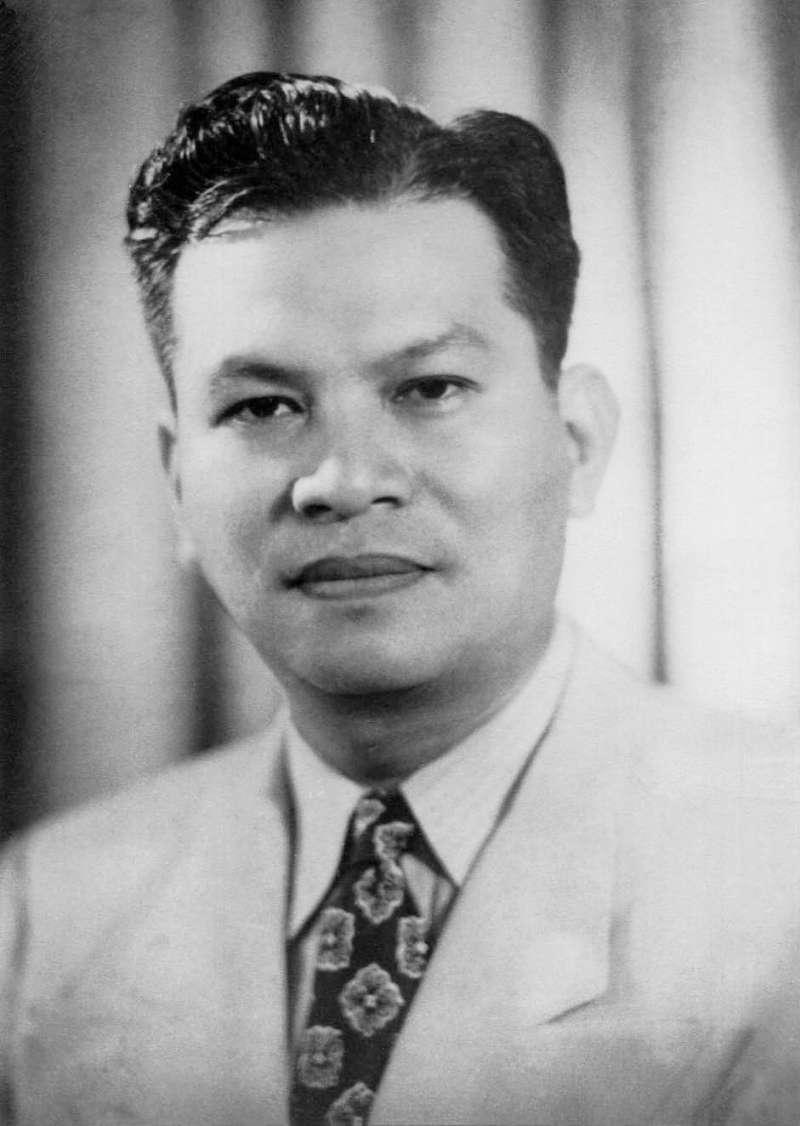 菲律賓第7任總統麥格塞塞(Ramon Magsaysay)。(Wikipedia / Public Domain)