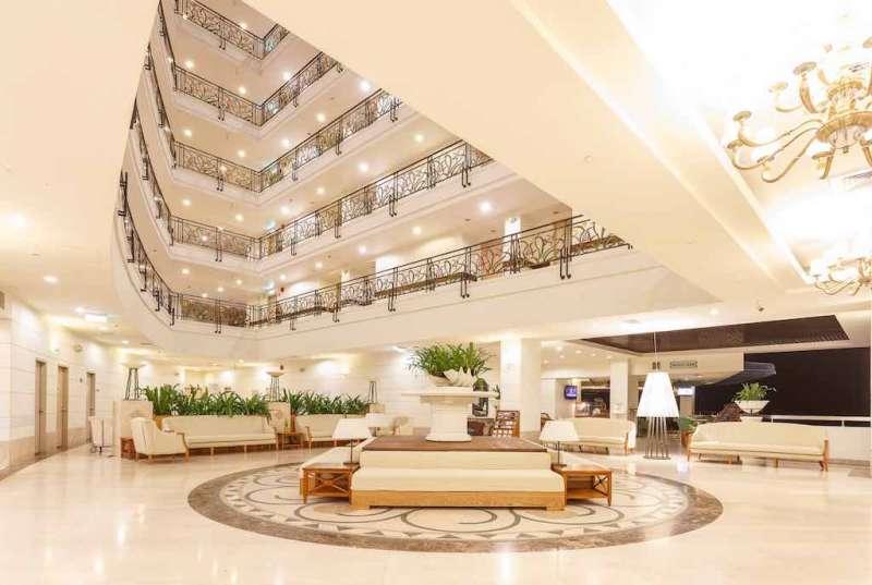 帛琉大飯店。(取自帛琉大飯店官網)