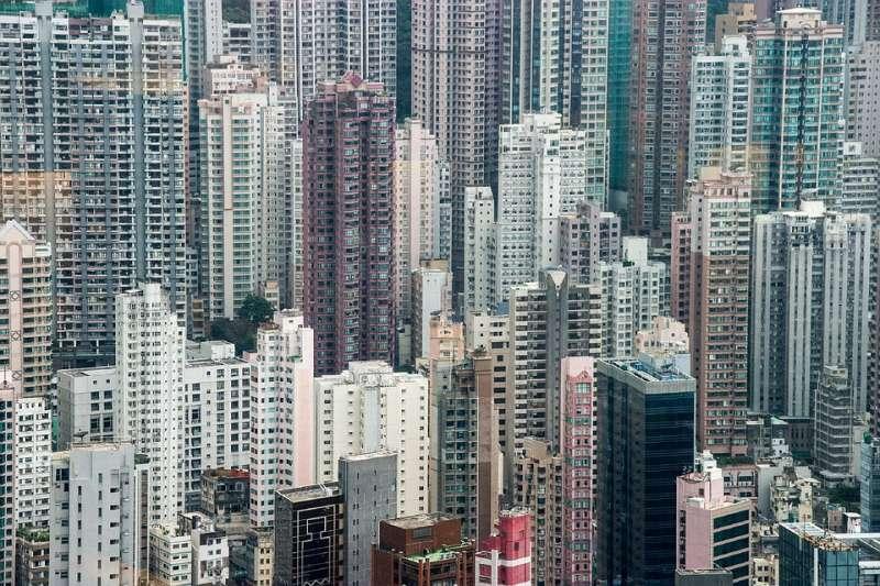 香港 蝸居 老舊樓房 住宅(取自skeeze@pixabay/CC0)