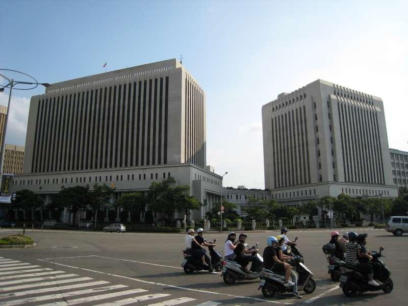 台灣中央銀行 央行。(取自Jiang@wikipedia/公有領域)