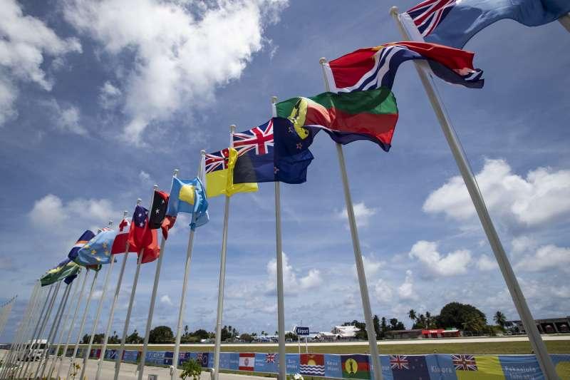 太平洋島國論壇在諾魯召開年度峰會。(美聯社)