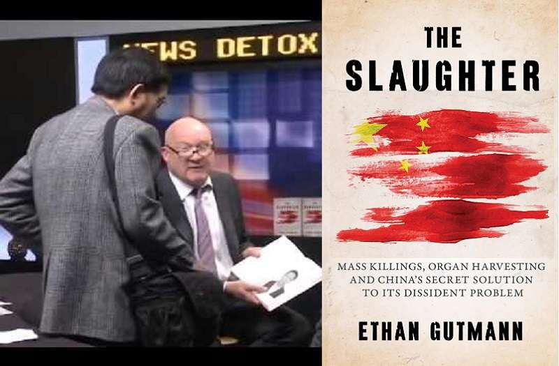 伊森‧葛特曼(Ethan Gutmann)所著《屠殺》英文版(The Slaughter)。