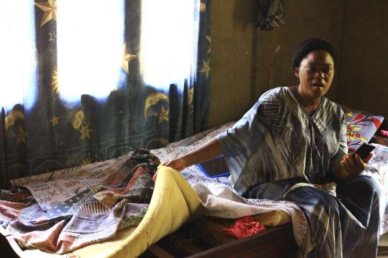 剛果伊波拉疫情再起,萊尼的女兒帕斯卡琳感染伊波拉病毒,幸虧接受實驗療法而好轉。(AP)