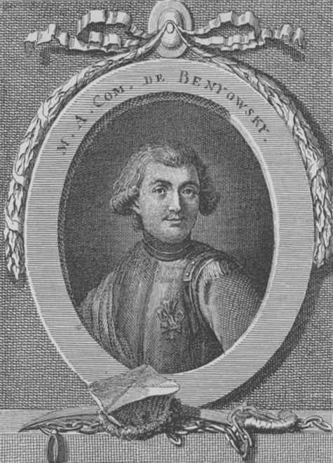 斯洛伐克人貝紐夫斯基在18世紀返歐的途中經過台灣,將福爾摩沙的豐饒之景寫在遊記中,傳播到歐洲。(wikipedia/public domain)