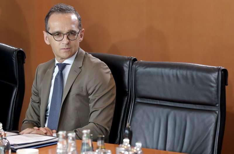 德國外交部長馬斯(Heiko Maas)。