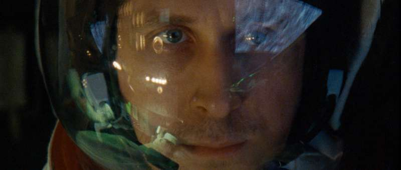 阿姆斯壯登月傳記電影「登月先鋒」(First Man),由加拿大男星雷恩葛斯林(Ryan Gosling)主演。(AP)