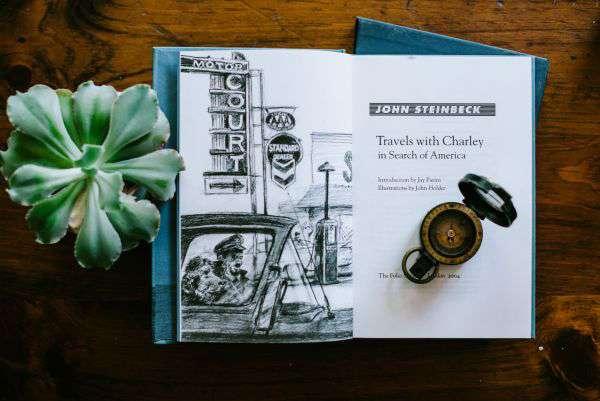 《斯坦貝克攜犬橫越美國》一書為後繼作家們的壯遊提供了靈感。(圖/澎湃新聞提供)