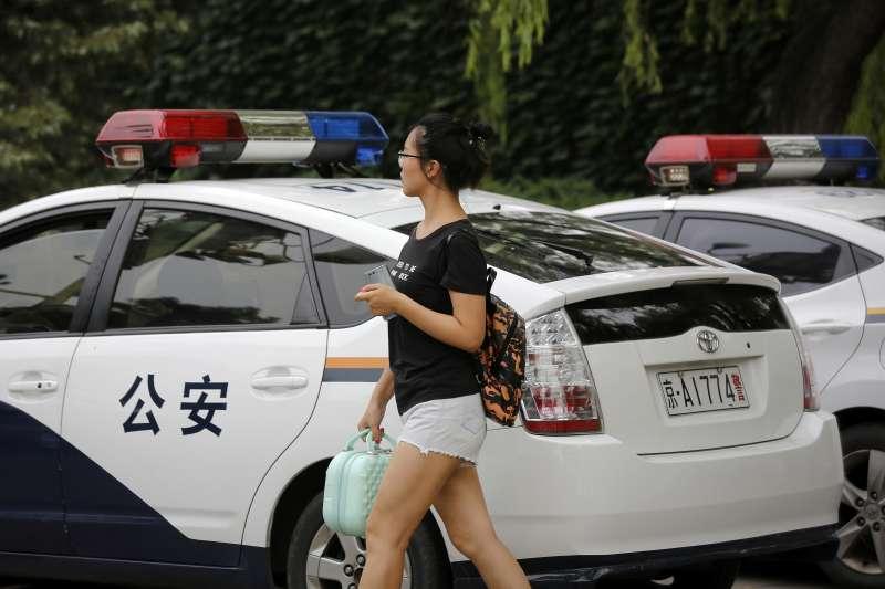 任麗萍7月到北京上訪維權(AP)