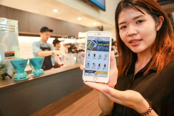 美廉城超App預計9月底會上線,屆時將可提供線上點餐、付款服務。(圖/賀大新攝,數位時代提供)