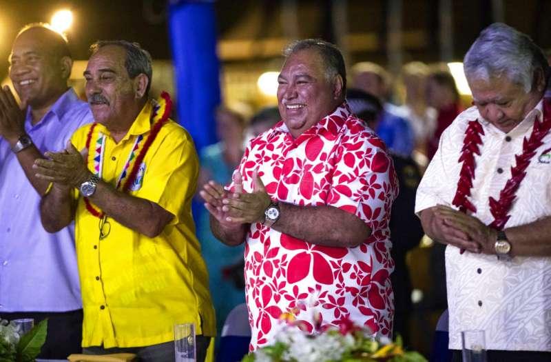 太平洋島國論壇掀波,諾魯總統瓦卡。(AP)