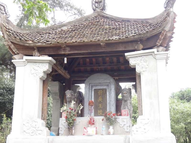 古代越南開國英雄吳權陵墓。(圖/Nam Quốc Văn提供|想想論壇)