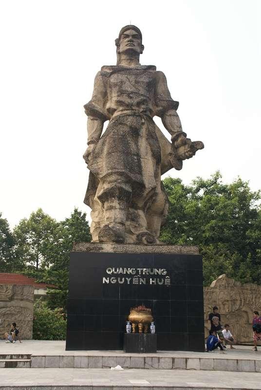 河內的阮惠紀念廣場。(圖/Nam Quốc Văn提供|想想論壇)
