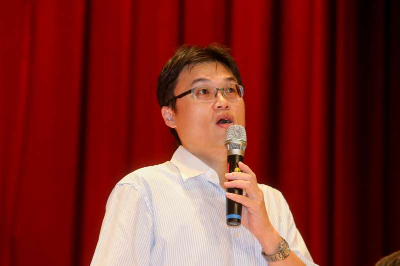 教育部高教司司長朱俊彰,出席20180909-國教行動聯盟大學入學制度108學年度新措施座談會。(陳明仁攝)