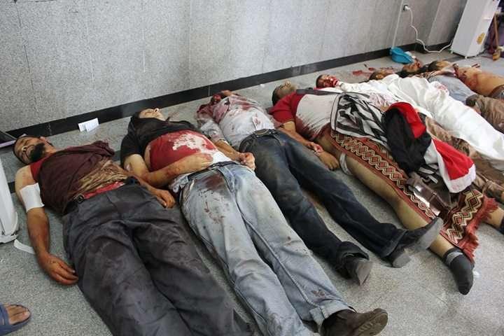 2013年8月,埃及軍方屠殺支持穆爾西總統的民眾(Asmaa Anwar Shehata@Wikipedia / CC BY-SA 3.0)