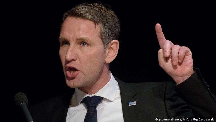 德國極右派政黨AfD政治人物霍克(Björn Höcke)。(德國之聲)